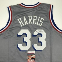 Autographed/Signed TOBIAS HARRIS Philadelphia Grey Basketball Jersey JSA... - $174.99