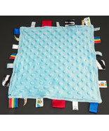 Tags Baby Blue Security Blanket Lovey Dots Ribbons It's A Boy Sports Trains - $17.77
