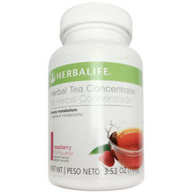 HERBALIFE HERBAL TEA CONCENTRATE 3.53OZ/100G RASPBERRY FREE SHIPPING! - $32.50