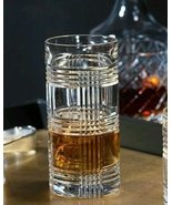 Ralph Lauren Glen Plaid Crystal Highball Glass (1) - $30.00