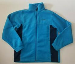 Columbia Girl's Long Sleeve Zip Up Fleece Jacket Size 18/20 - $14.99