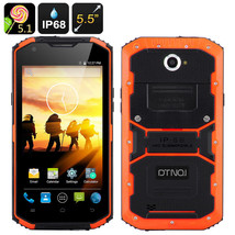 DTNO.1 Rugged Smartphone - 5.5 Inch HD Screen, Android 5.1, IP68,Dual SI... - $188.25