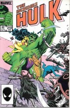 The Incredible Hulk Comic Book #310 Marvel Comics 1985 VERY FINE - $2.75
