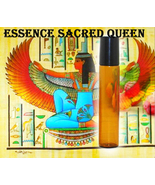 Haunted 27x ESSENCE OF SACRED QUEEN BEAUTY LOVE YOUTH OIL MAGICK WITCH C... - $33.77