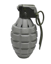 1 Piece Toy Gray Pineapple Hand Grenade with Sound Effect - $6.99