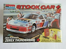 1990 Monogram 1/24 Alan Kulwic'is #7 Stock Car Plus Kit  #2908 Factory S... - $23.99