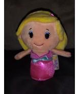 Hallmark itty bittys blonde Barbie plush - $5.00