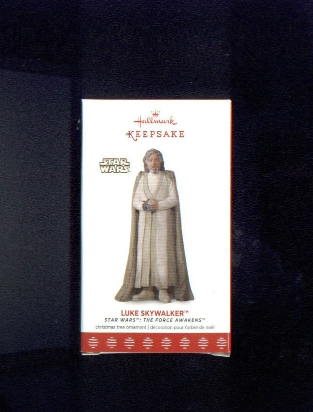 Primary image for Hallmark LUKE SKYWALKER Keepsake Christmas Ornament NEW star wars the last jedi