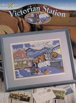 Victorian Station StitchWorld Cross Stitch PATTERN/INSTRUCTIONS/NEW Leaflet - $1.77