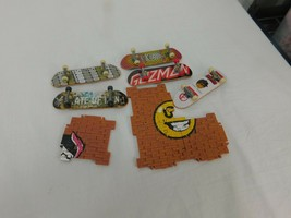 Group Lot of Tech Deck Finger Skateboards and Parts - $12.71