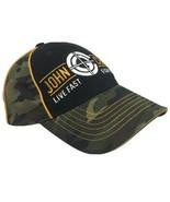 John Cena Camouflage Live Fast Fight Hard WWE Hat Adjustable Green Camo ... - $23.36