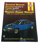General Motors Chevrolet Cavalier & Pontiac Sunfire 1995 to 2000 Haynes ... - $15.75