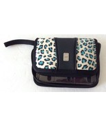 Nintendo DS and Games Blue Leopard Cheetah Zip Around Carrying Case Cove... - $13.49