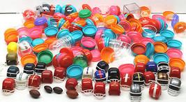 2 Lb Lot Mini Football Helmet Cases Plastic Gumball Party Favors+Footbal... - $32.71