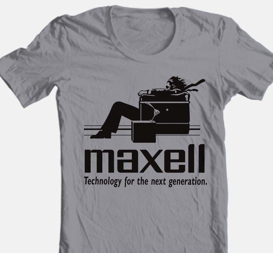Maxell audio car stereo retro vintage t shirt alpine 1980s for sale online graphic tee store