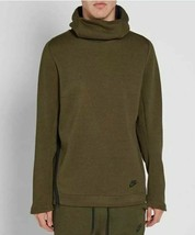 NIKE TECH FLEECE FUNNEL NECK HOODIE OLIVE MEN SIZE XL NEW WITH TAGS 8052... - $74.79