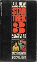 Star Trek 3 Paperback Book James Blish Bantam 1972 VERY FINE - $3.75