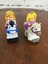 Fisher Price ~ Little People Disney KLIP KLOP Horse Princess Castle ~ Lot Of 2 - $9.89