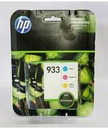 Genuine HP 933 Tri-Color Ink Cartridge N9H56FN EXP 2019 - $14.03