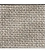 FABRIC CUT 32ct raw/silver belfast linen 9x14 Tis The Season CCN - $8.00