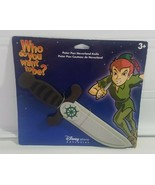"Disney Store Exclusive Peter Pan Neverland Knife Hard Foam 12"" New Hallo... - $24.24"