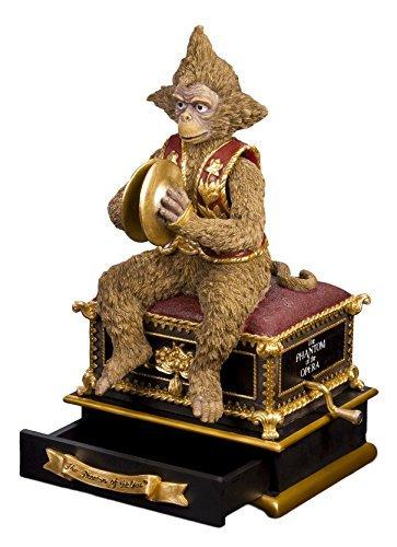 The San Francisco Music Box Company Phantom of The Opera Monkey with Hand Crank