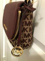 Michael Kors Signature Classics Bedford Pocket Flap Small Crossbody Bag ... - $79.00