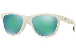 Oakley Moonlighter POLARIZED Sunglasses OO9320-06 Polished White W/ Jade Iridium - $59.39