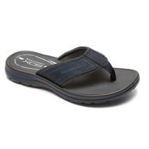 Rockport Men's Get Your Kicks  GYKS Thong  Flip Flops  Sandal Blue V79625 - - $39.06 CAD
