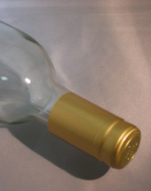 Gold PVC Shrink Capsules For Wine Bottles - 30 - $6.39