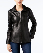 ANNE KLEIN  Leather Jacket MSRP$420.00 - $148.50