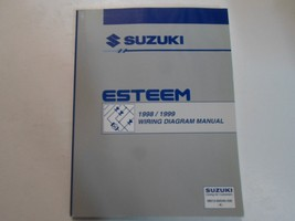 1998 1999 Suzuki Esteem Wiring Diagram Manual Factory Oem Book 98 99 Dealership - $19.75