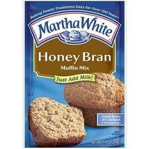 Martha White Muffin Mix Honey Bran 7.4 oz. (Pack of 6) - $14.88
