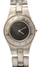 Baume Mercier Linea Stainless Steel Quartz Silver Dial 27mm MV045182 Watch - $550.00