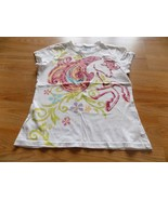 Girls Size Large 10-12 The Children's Place Horse Short Sleeve T Shirt T... - $8.00