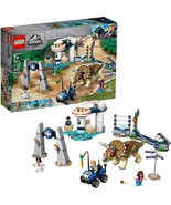 Brand New LEGO Jurassic World 75937 Triceratops Rampage Dinosaur Free Sh... - $45.99