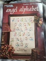 Leisure Arts Angel Alphabet 2870 Cross Stitch Pattern Booklet - $7.87