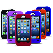 For Apple iPhone 5 5S  Silicone Rugged Rubber Hard Shockproof Case Cover - £4.95 GBP