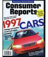 ORIGINAL Vintage 1997 Consumer Reports Magazine Cars Issue - $14.84