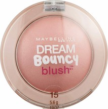 MAYBELLINE DREAM BOUNCY BLUSH ROSE PETAL 15 NEW SEALED - $3.99