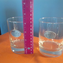 Longaberger Baskets Set Of 2 Glasses 4 Inch Tall ...(Gg) - $23.40
