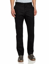 NEW Lee Uniforms Men's Slim Straight Core Pant, Black, Size 32W x 30L K9440YL - $20.65