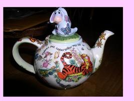 Eeyore  Tigger  Winnie the  Pooh Disney Teapot Dish Washer safe - $275.00