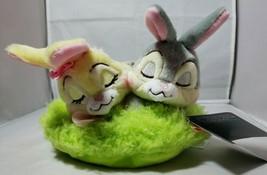 Disney Thumper & Miss Conejito Cesta de Pascua Nuevo Bambi Peluche Peluche - $26.72