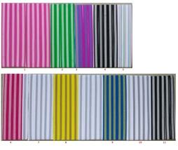 Adidas Unisex 6 PC SET All Sports Headbands 3 Stripes Design  - $20.00