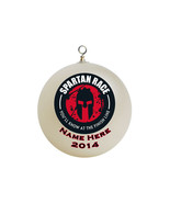 Personalized Spartan Race  Christmas Ornament #2 - $16.95