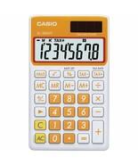 Casio - SL-300VC - Pocket Calculator, 8 Digit Display - Carrot Orange - $12.82