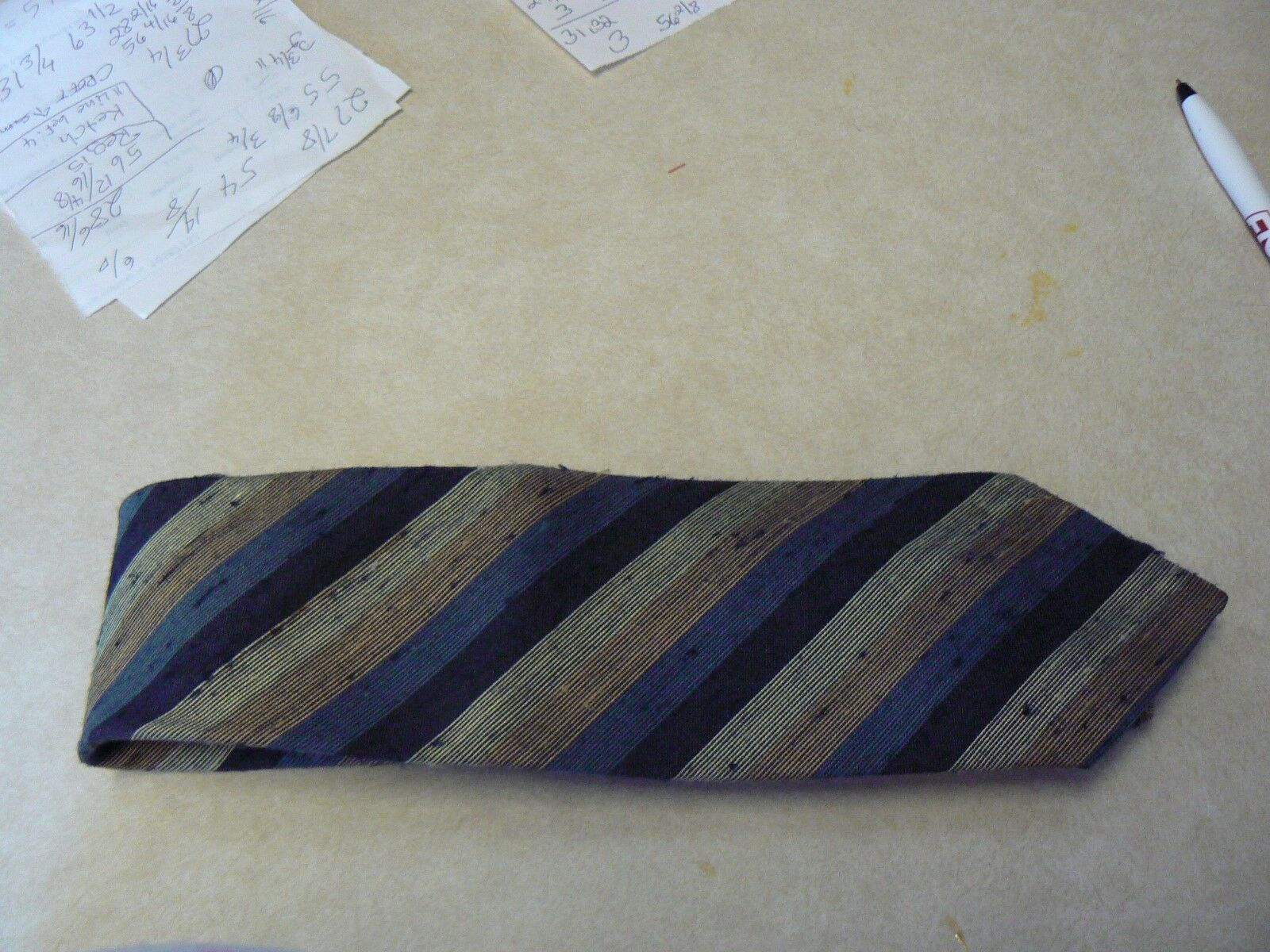 "Primary image for Sears Classic Collection silk tie 56 1/4"" long 3"" wide (1 available)"