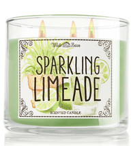 Bath & Body Works Sparkling Limeade Three Wick 14.5 Ounces Scented Candle - $22.49