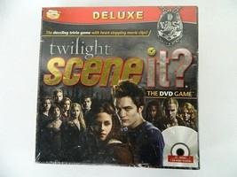Twilight Saga Movie Scene It Deluxe Edition DVD Trivia Board Game New Un... - $39.55
